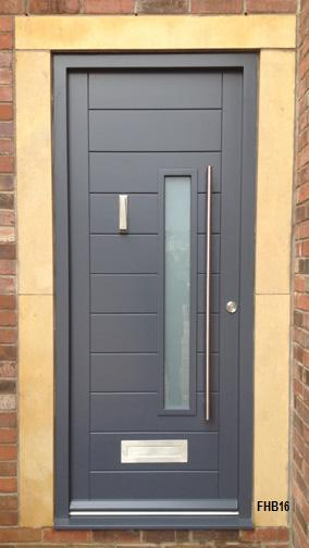 contemporary front doors fhb
