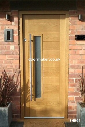 contemporary door and frame