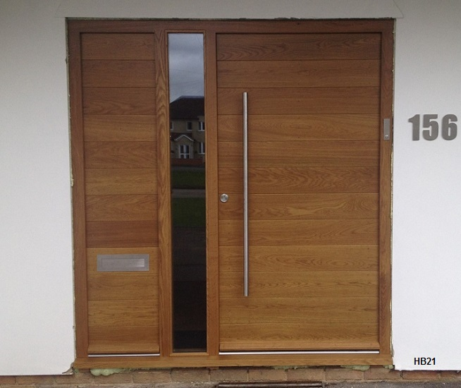contemporary door frame