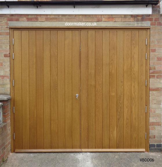 Contemporary front doors oak iroko and other woods for Garage door repair grove city ohio