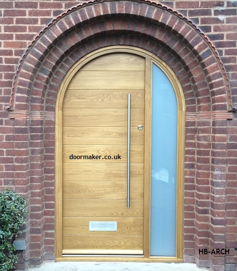 contemporary arched doorsets