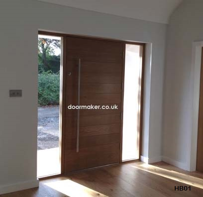 Contemporary Front Doors Oak Iroko And Other Woods