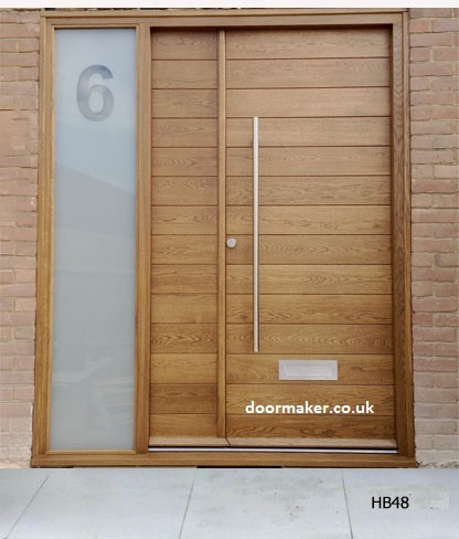 contemporary double doors
